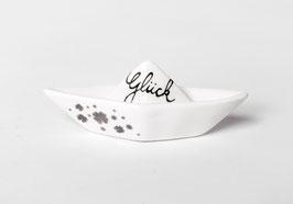 "Traumboot klein ""Glück Ahoi"""