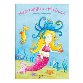 "Malbuch ""Meerjungfrau"""