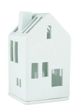"""Mini Lichthaus """"Wohnhaus"""" weiß"""
