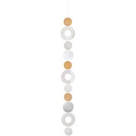 Kreiskette Ringe L 113cm