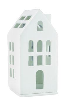 """Mini Lichthaus """"Gästehaus"""" weiss"""