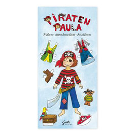 Anziehpuppenblock Piraten-Paula