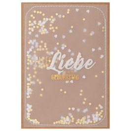 """Karte """"Alles Liebe zum Geburtstag"""""""