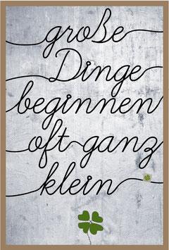 """Drahtkunst Bild klein """"Klee"""""""