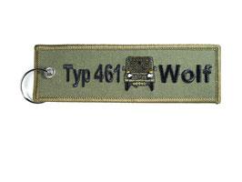 Typ 461 Wolf Key Ring