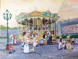 Carousel at Montmartre