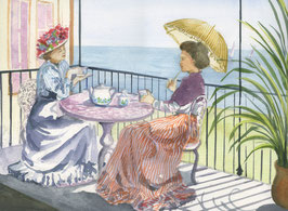 Afternoon Tea on the Balcony
