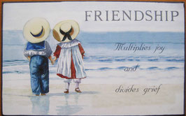FRIENDSHIP Door Plaque