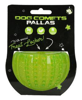 Dog Comets Pallas und Vesta  - Belohnungsspielzeug grün und pink