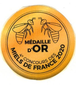 MIEL de tilleul Médaillé d'or 2020 !!