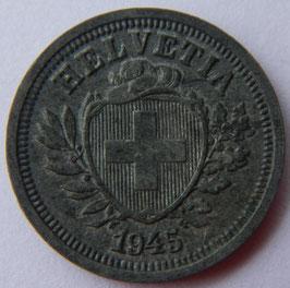 1 Rp. 1945 Schweiz