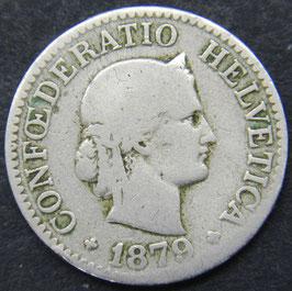 10 Rp. 1879 Schweiz