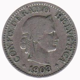 10 Rp. 1903 Schweiz