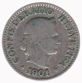 10 Rp. 1901 Schweiz