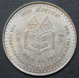 Nepal 5 Rupee 1990