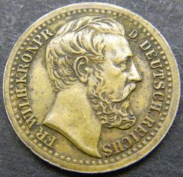 Lauer Spielmarke Kronprinz Friedrich Wilhelm
