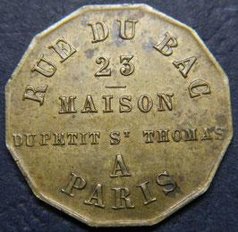 Maison Du Petit St Thomas 23 Rue Du Bac Paris - Toiles Soieries et Nouveautes