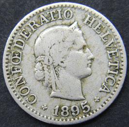 10 Rp. 1895 Schweiz
