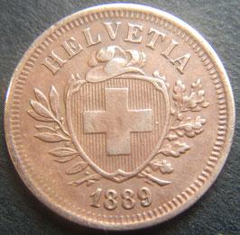 1 Rp. 1889 Schweiz
