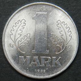 Deutsche Demokratische Republik DDR 1 Mark 1982A