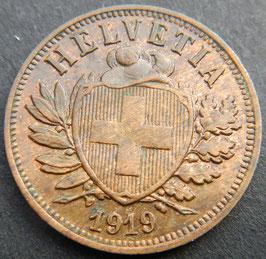 2 Rp. 1919 Schweiz