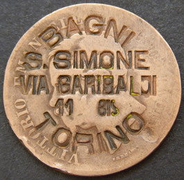 Bagni S. Simone, Via Garibaldi TORINO