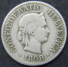 10 Rp. 1898 Schweiz
