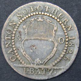 Solothurn 1 Batzen 1826