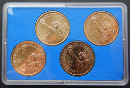 USA  Coinset 4 x 1$