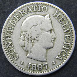 10 Rp. 1897 Schweiz