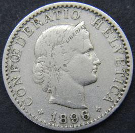 20 Rp. 1896 Schweiz
