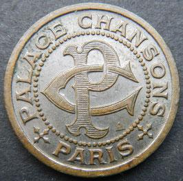 Phonograph Token - Palace Chanson Paris