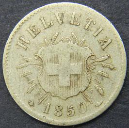 5 Rp. 1850 Schweiz