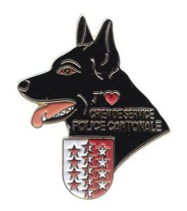 Wallis Diensthund Kantonspolizei / Chien de Service / Cane di Servizio
