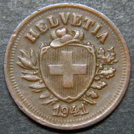 1 Rp. 1941 Schweiz