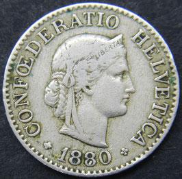 10 Rp. 1880 Schweiz