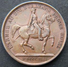 L'Armée au Duc d'Orléans' 1842
