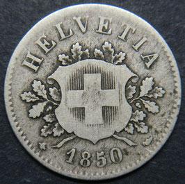 10 Rp. 1850 Schweiz