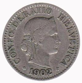10 Rp. 1902 Schweiz