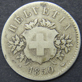 20 Rp. 1850 Schweiz