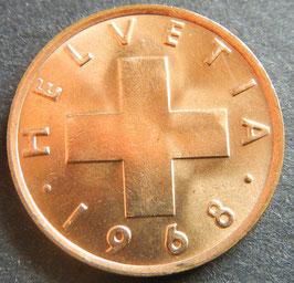 1 Rp. 1968 Schweiz