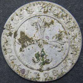 Bern 4 Kreuzer 1798