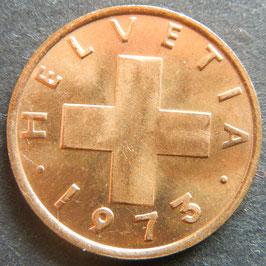 1 Rp. 1973 Schweiz