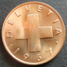 1 Rp. 1967 Schweiz
