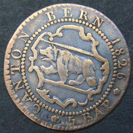 Bern 5 Rappen 1826