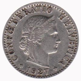 20 Rp. 1927 Schweiz