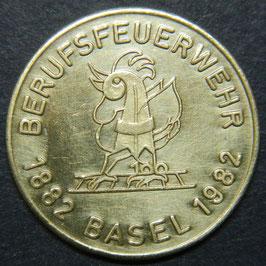 100 Jahre Berufsfeuerwehr Basel 1882-1982