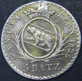 Bern 5 Batzen 1826