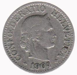10 Rp. 1904 Schweiz