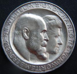 Württemberg, Wilhelm II. und Charlotte